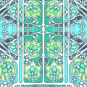 Art Nouveau Spring Infestations