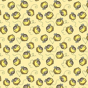 """Busy Bees yellow 2/3"""""""