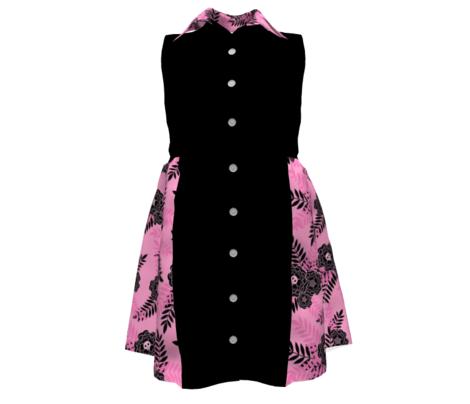 Marigold Skulls Pink Black