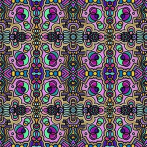 Project 169 | Stained Glass | Purple Haze