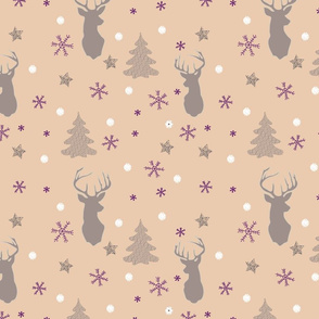 Christmasy deer collection
