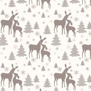 Deer family time