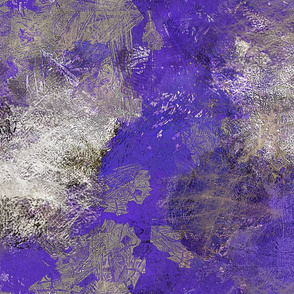 paint--cobalt blue abstract