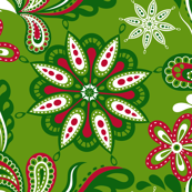 Green__Red_and_White_Flourish_Repeat