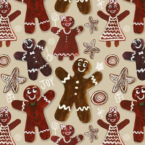 Gingerbread Party - Beige