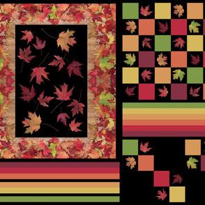 Autumn Maple Leaf Panel