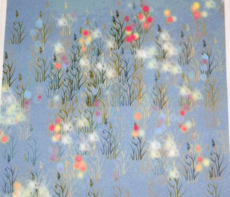 Wildflower Field Slate Blue
