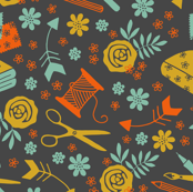 Spoonflower - from design to fabric to sewing (gray)