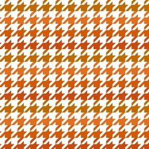 The Houndstooth Check ~ Pumpkin Spice Ombre ~ Small