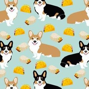 corgi tacos corgi burritos dog fabric cute dogs design best corgis fabric