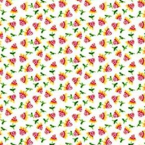 Tiny_Sunflowers_White