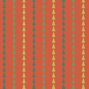 Bright Trees Green Stripe