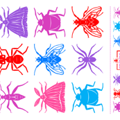 Insect Quilt Top
