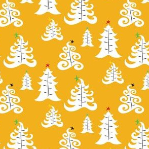 Holiday Trees - Gold