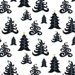 Holiday Tree - White