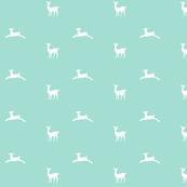 Deer 2 - MED6 mint white