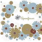 Spoonflower 2017 T-Shirt Happy Yellow