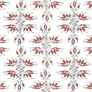 Spoonflower Phoenix