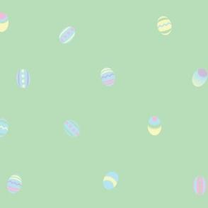 Eggs on Green