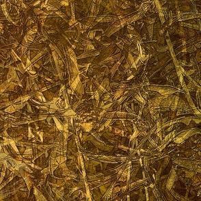 Golden grassy texture