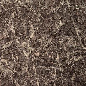 Grassy texture -umber