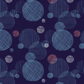 Textured circles
