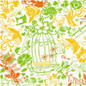 Spoonflower Frees My Imagination