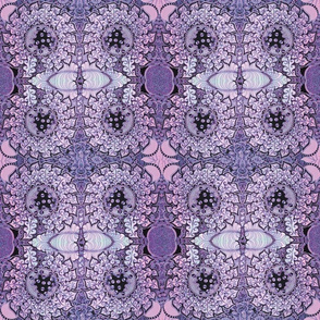 Feather Dance-pink and purple