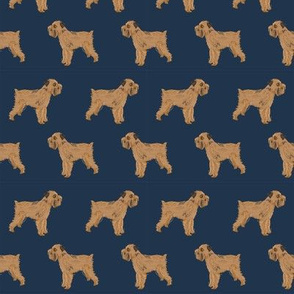 brussels griffon standing navy fabric cute dogs fabric pet dog pet brussels griffon