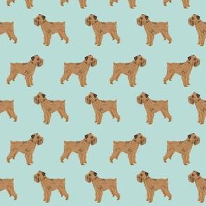 brussels griffon dog fabric cute mint green dogs dog fabric pets brussels griffon