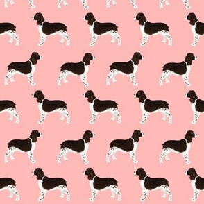 english spring spaniel dog fabric cute pink dogs fabric cute pet dogs dog fabric