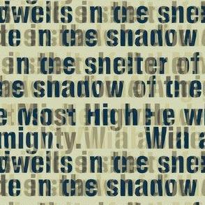 Psalm 91 he who dwells