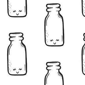 Happy Milk Jar