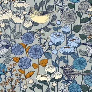 Winter Garden - Frost