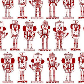 Nutcrackers - Red & White