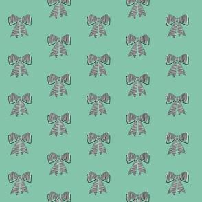 schoolgirl bows // pantone 136-11