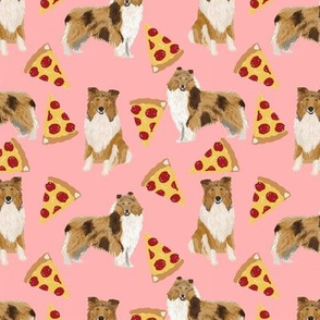 rough collie pizza fabric cute pizza design best dogs and pizza funny fabric cute dog design