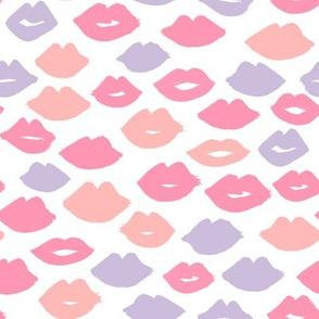 lips // lipstick pastel lips girls lipstick beauty fabric kisses kiss valentines fabric