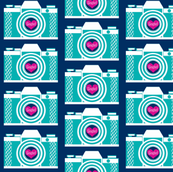 Retro Camera , Say cheese!