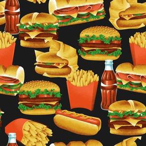 Fast Food - Black