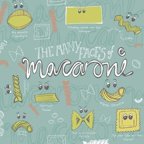 The Many Faces of Macaroni