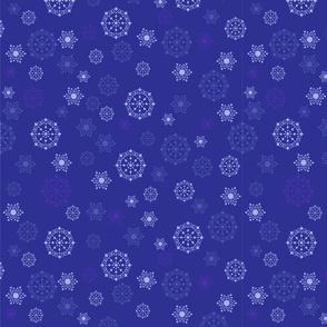 Christmas snow showers