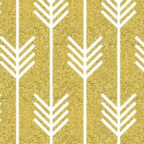 arrow_glitter_and_gold_background
