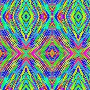 A Painter's Shields of Vibrant Colour