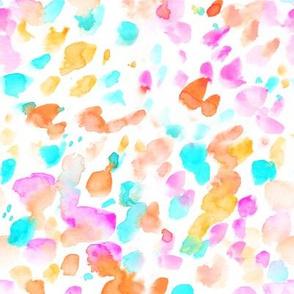 Abstract Watercolor Dots