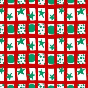 Christmas Howdy: Happy Grid