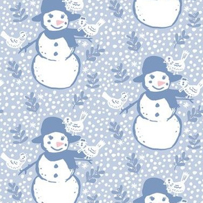 The Friendly Snowman