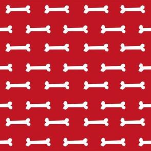 fire red dog bone fabric dogs pet dog design coordinating fabric