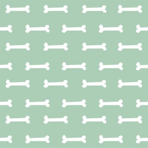 mist green dog bone fabric dogs pet dog design coordinating fabric