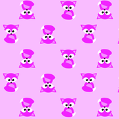 Pink Foxes